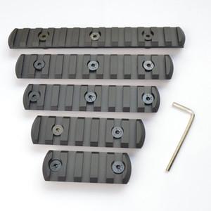 5,7,9,11,13 ranura CNC Aluminio Picatiny / Weaver Rail Sección para llave mod Handguard Rail Mount Envío gratis