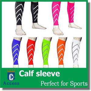 Calf Support Graduation Compression Leg Sleeve Sports Calcetines Ejercicio al aire libre