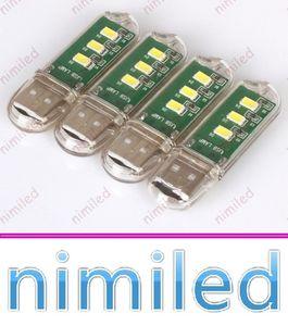 Nimi1003 Super Bright Mini 3LED 2.3 W 5V USB Hostel компьютерные настольные лампы небольшой ночной свет мобильная силовая клавиатура USB огни освещение платы
