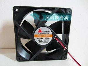 Nueva original ventilador inversor Y.S.TECH FD241238HB 12038 0.36A 120 * 120 * 38MM 24V 2 alambre