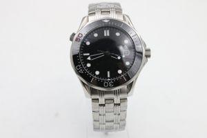 Hot Sale Uhren Männer Keramik drehbare Lünette Glas zurück automatisch Professionelle Wach Co-Axial Planet Ozean Männer tauchen Armbanduhr Uhren