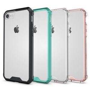Per iphonexs xs max xr 8plus telefoni cellulari Case Cover Cover protector Cases Soft TPU Bumper Clear Hybrid