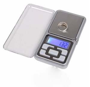 Mini LCD Digital Electronic Scale Kapazität Balance Diamant Schmuck Gewicht Gramm Wiegen Taschensküche Küche