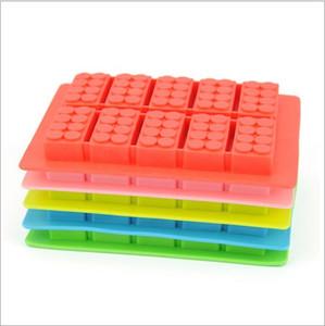 Nuovo arrivo Silicon Ice Cube Tray Blocco stampo Maker Stampo gelato Stampo per ghiaccio Cube Tray