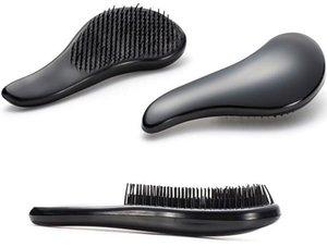 DHL Livre Cabelo Combs Magia Detangling Lidar Com Emaranhado Salão de Cabeleireiro cabelo Styling Ferramentas Tamer Escova de Cabelo Pente de Alta Qualidade 18 * 3 cm 12 Cores