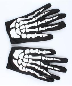 2017 Halloween Winter Hot Sale Show Props Dance Party Terror Gloves Bone Skull Ghost