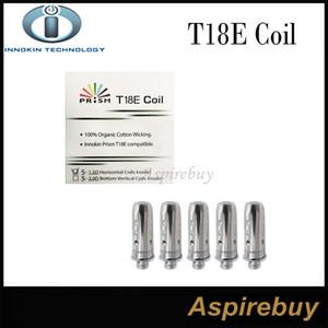 100% Otantik Innokin Endura T18 T18E Innokin Endura Prizma T18 Tankı için 1.5 ohm Bobinleri