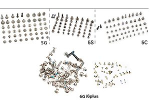 Full Screws Set for iPhone 6 6s 7 8 plus for iphone 4 4 5 5s 5c Screw Replacement Parts 50PCS Lot