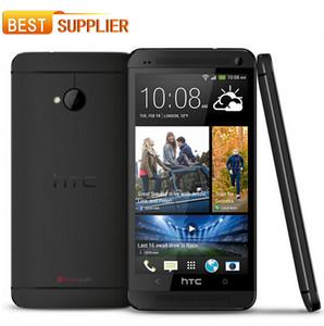 """2016 الهاتف المحمول الأصلي مقفلة HTC واحدة M7 801e رام 2GB 32GB روم الروبوت الذكي رباعية النواة 4.7 """"شاشة تعمل باللمس تجديد"""