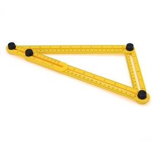 Angle-izer Template Tool Angleizer Açı Şablonu Aracı Çok Açılı Cetvel Marangoz için Tüm Açıları ve Formları Ölçer - Kolay Kullanım