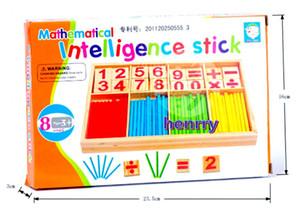 Figuras pré-escolares de Montessori, contando ajudas. Brinquedos para crianças