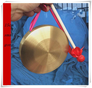 low pitch gong with hammer sisals gonfalons Chinese traditional Musical instrumen