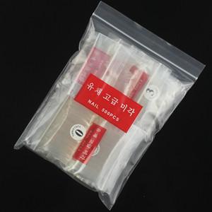 500 шт. белый прозрачный натуральный поддельные ногти советы короткие полное покрытие поддельные искусственные ногти украшения наклейки акриловые инструменты накладные ногти