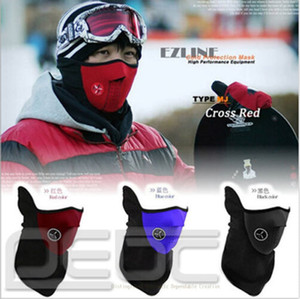 Wholesale-SKI HIVER الرقبة نصف الوجه قناع DEMI MASQUE VELO WINTER WARM Motorcycle Bicycle 99