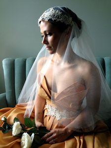 Neuer hochwertiger bester Verkaufs-romantischer Ellbogen-weiße Elfenbein Juliet Kappen-Schleier-Brauthauptstücke für Brautkleider