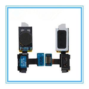 10 pçs / lote novas peças de ouvido speaker para samsung galaxy s4 siv gt-i9500 i9505 fone de ouvido fone de ouvido com sensor de luz flex ribbon fee grátis