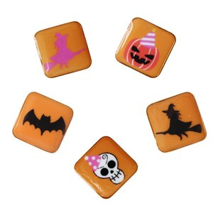 Forma de joyería de moda Sansummer Halloween Bat Ghost Pumpkin Witch Lovely Exquisite Personality Popular Brooch