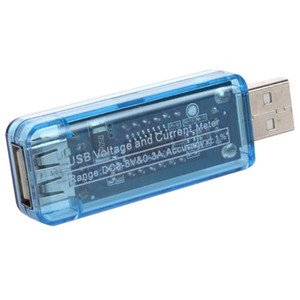 ساخنة جديدة USB 2.0 / 3.0 السلطة متر فاحص شحن مراقب الجهد الحالي المتر