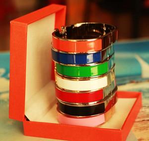 Высочайшее качество 12 мм H браслет браслет браслет титана влюбленности оптом выгравированный логотип бренда овальный отвертчик браслет для женщин оптом