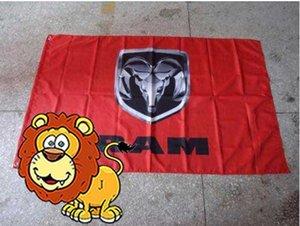 флаг тележки Доджа вертикальный для автомобиля, Знамени Доджа, размера 90X150CM, полиэфира 90*150cm 100%, печатания Цифров