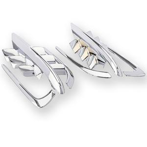 Chrome Shark Gills Verkleidungs Akzente für Honda Goldwing GL1800 2001-2010