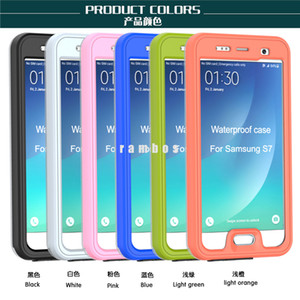 Cubierta a prueba de choques del teléfono móvil IP68 Bolsa Submarino Buceo Natación Surf Cubierta impermeable para Samsung Galaxy s7