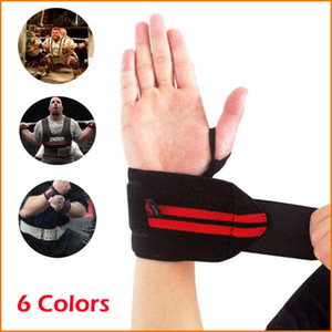 2 pcs  lot Adjustable Fitness Wrist Support Strap, Weight Lifting Sports Gym Wristband, Bandage Protector Wrist Support