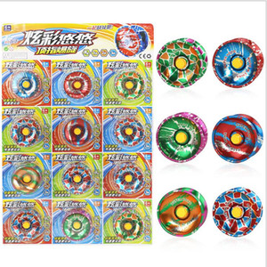Metallo Fidget Spinner Metallo YoYo Lega di alluminio Design Ad alta velocità YoYo Ball Bearing String Trick Kids Magic Juggling Toy