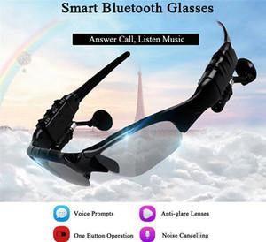 Mais novo dos óculos de sol Bluetooth Headset sem fio Sports Headphone Sunglass Stereo Handsfree Fone de ouvido mp3 Music Player Com pacote de varejo