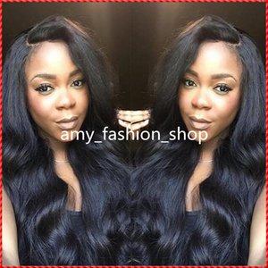 2016 Vierge Brésilienne Cheveux De Soie Top Full Lace Perruques