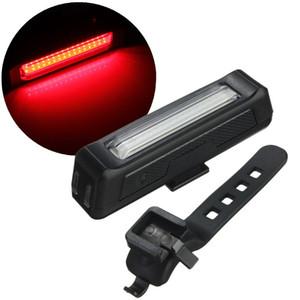 Luzes da bicicleta USB LEDs Luz Super Brilhante LEDs Lanterna Bateria De Polímero De Lítio Recarregável 100 Lumens Carregador USB com Suporte de Bicicleta