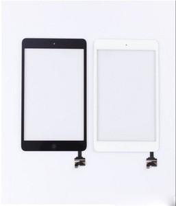 Panel táctil Completo Conjunto de digitalizador de pantalla táctil con IC para iPad Mini Mini 2 Panel táctil con botón de inicio Negro Blanco AF693 ipad 1 lcd
