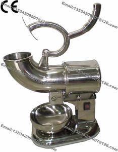 Бесплатная доставка 180 кг/ч двойной лезвие 110 в 220 В электрический нержавеющей стали снег конус машина льда бритвы чайник льда Дробилка чайник
