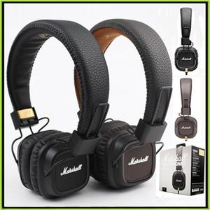 Marshall Major II Kopfhörer Kabelgebundenes Headset mit Mikrofon Guter Bass DJ-HiFi-Kopfhörer HiFi-Kopfhörer DJ-Monitor-Kopfhörer VS Wireless SOLO2