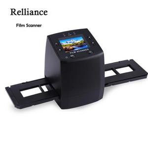 """MINI 5MP 35mm 네거티브 필름 스캐너 네거티브 슬라이드 사진 필름 변환 USB 케이블 LCD 슬라이드 2.4 """"TFT for Picture US / EU Plug"""
