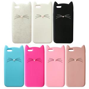 Для iPhone 7 7Plus 3D милый кот милый силиконовый мягкий чехол для Apple iPhone 6 6sPlus 5 5s SE новый BAVS038