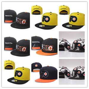 Хорошая Продажа Оптовая Филадельфия Флаеры Snapback Шляпы Желтые Бейсболки Хип-Хоп Мужские Хоккей Спортивная Команда Регулируемая Бесплатная Доставка