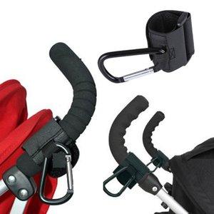 2pieces / Lote Baby Stroller Acessórios Pram Hooks Hanger para Baby Car Carriage saco de armazenamento de alta qualidade