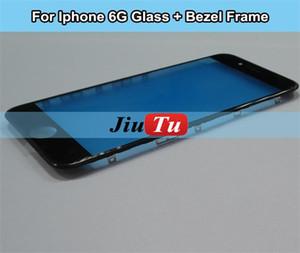Digitizer di vetro del pannello di touch screen di qualità A + con cornice Staffa di castone per iPhone 6S Plus 5.5 LCD fix da DHL