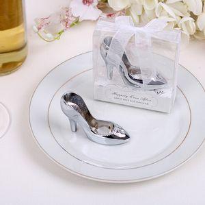 Cinderella shoe bottle opener 100PCS LOT wedding bridal shower favor party gifts Free shipping