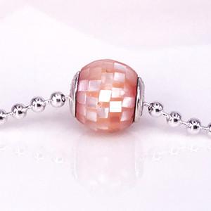 Kostenloser Versand Authentische 925 Sterling Silber Essenz Stil MITGEFÜHL Charme Fit DIY Pandora Essenz Armband 796078MMP
