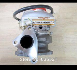 TD05 20G TD05-20G-8 SUBARU IMPREZA WRX STI Için Turbo Türbin Turbo Türbini EJ20 EJ25 2.0L MAX 450HP conta ve boru ile
