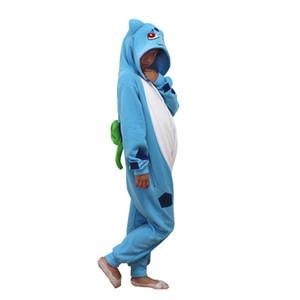 Bulbasaur Cosplay Kigurumis Çocuk Cadılar Bayramı Yeni Yıl Karnaval Mardi Gras Kostümleri Çocuklar Onesie Pijama