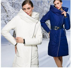 European and American Female long Down Coat high New Fashion brand Women Winter Coat Thick Down Jacket Coat Plus size