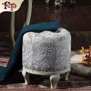 Antik üreme funriture-High end klasik yatak odası soyunma dışkı-klasik ahşap mobilya-kraliyet mobilya-ev mobilya Ücretsiz nakliye