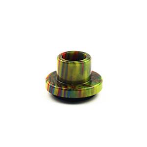 Cleito 120 Drip Tips resina epóxi Ampla Bore Drip Tip Bocal para Aspire cleito 120 Atomizer tanque bobina Acessórios 8 cores E-cigarro