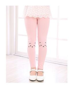 Children Trousers New Korean Baby Girls Printed Leggings Cat Panty Thick Autumn Keep Warm Children Leggings Panty