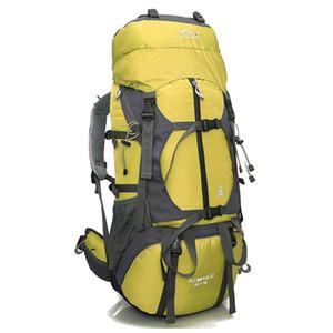 65L Outdoor-Rucksack Bergsteigen Rucksack-Halter Trage Umhängetasche kampierende Packsack mit Regen-Abdeckung