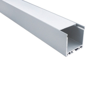 50 X 1M sets lot Office lighting aluminum led channel and high power U profile alu for flooring or recessed wall lamp