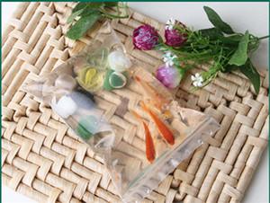 11x16cm, Утолщаются PE Поли мешок lucency полиэстер ziplock пластиковый мешок-повторяемый печать zip топ четкие сумки-кукуруза упаковка пластиковые карманные